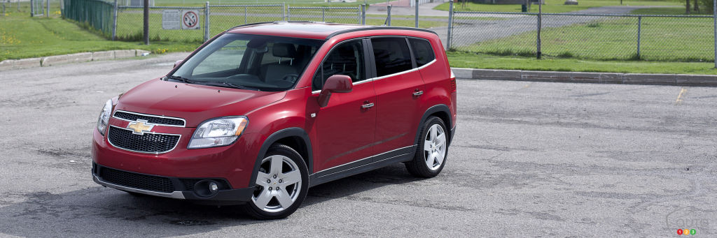 2012 Chevrolet Orlando reviews from industry experts | Auto123