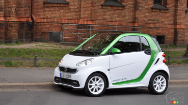 2013 smart fortwo electric drive First Impressions