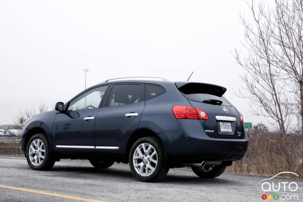 2012 Nissan Rogue Sl Awd Car News Auto123