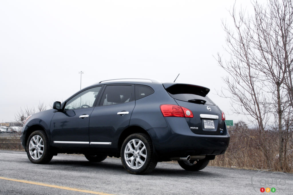 2012 Nissan Rogue SL AWD Review