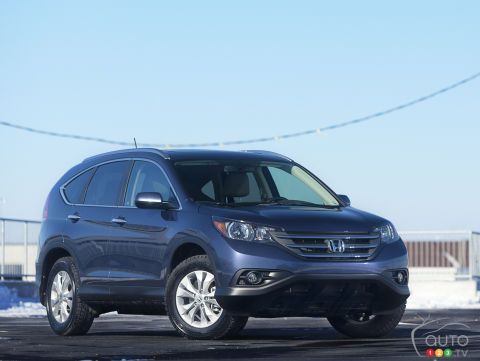 2012 Honda CR-V Touring Review