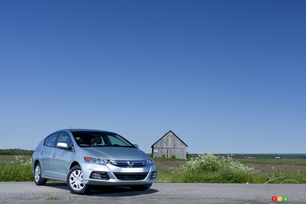 2012 Honda Insight LX Review