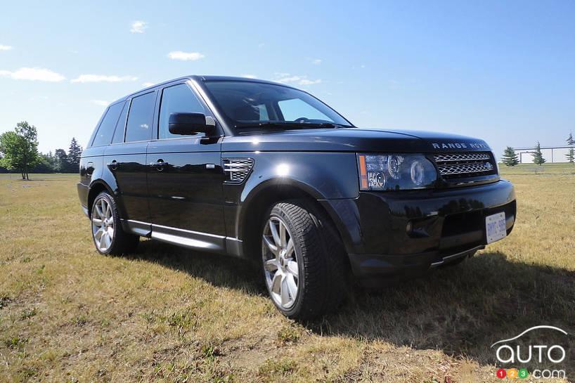 2012 range rover sport supercharged car news auto123. Black Bedroom Furniture Sets. Home Design Ideas