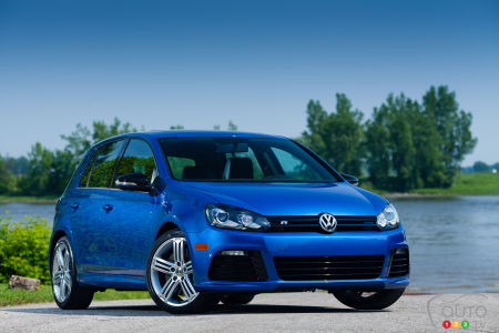 Volkswagen Golf R 2012 : essai routier (video)