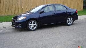2012 Toyota Corolla LE Review