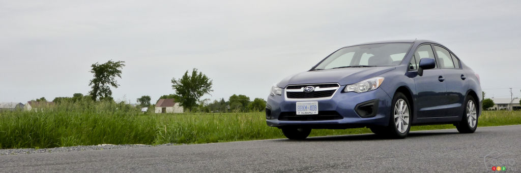 2012 Subaru Impreza Touring 4-door Review