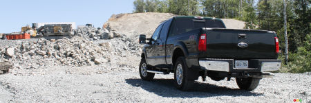 Ford F-250 Super Duty Lariat 4x4 2012 à cabine double : essai routier