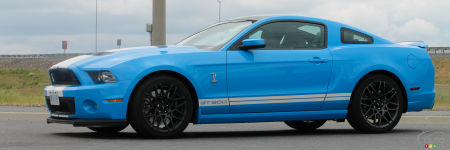 Ford Mustang Shelby GT500 2013 : essai routier