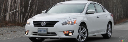 2013 Nissan Altima 3.5 SL Review