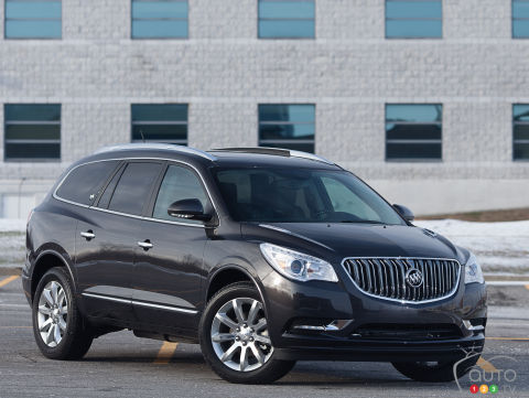 buick enclave reviews from industry experts auto123. Black Bedroom Furniture Sets. Home Design Ideas