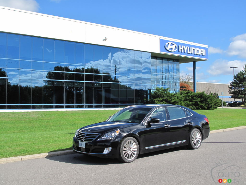 2014 Hyundai Equus Ultimate First Impressions