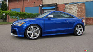 2013 Audi TT RS Review