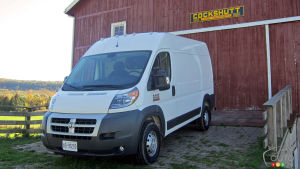 2014 Ram ProMaster First Impressions
