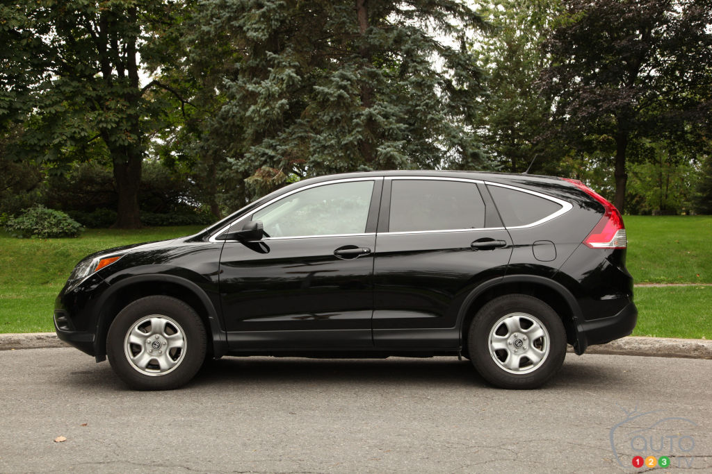 2013 Honda CR-V LX Review