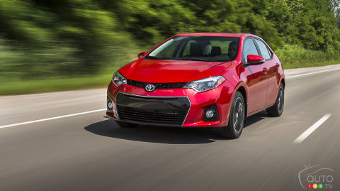 2014 Toyota Corolla S Review