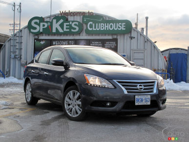 2013 Nissan Sentra SL Review