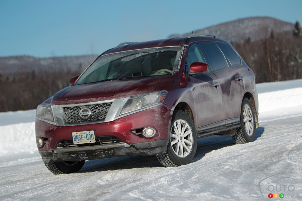 2013 Nissan Pathfinder SL 4x4 Review