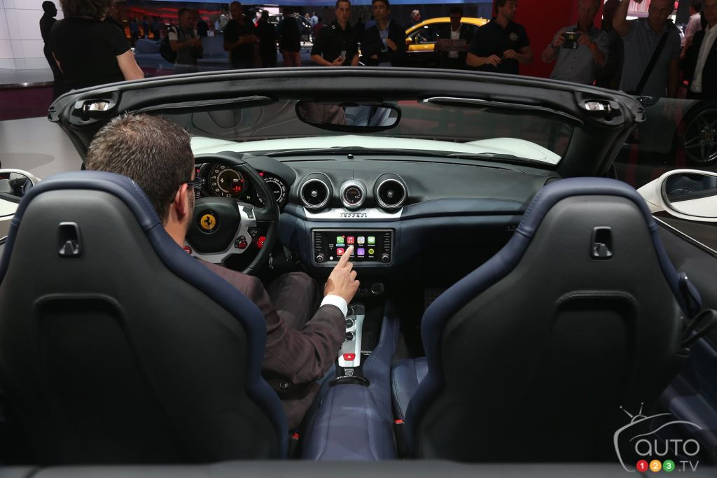 Ferrari and Apple join forces
