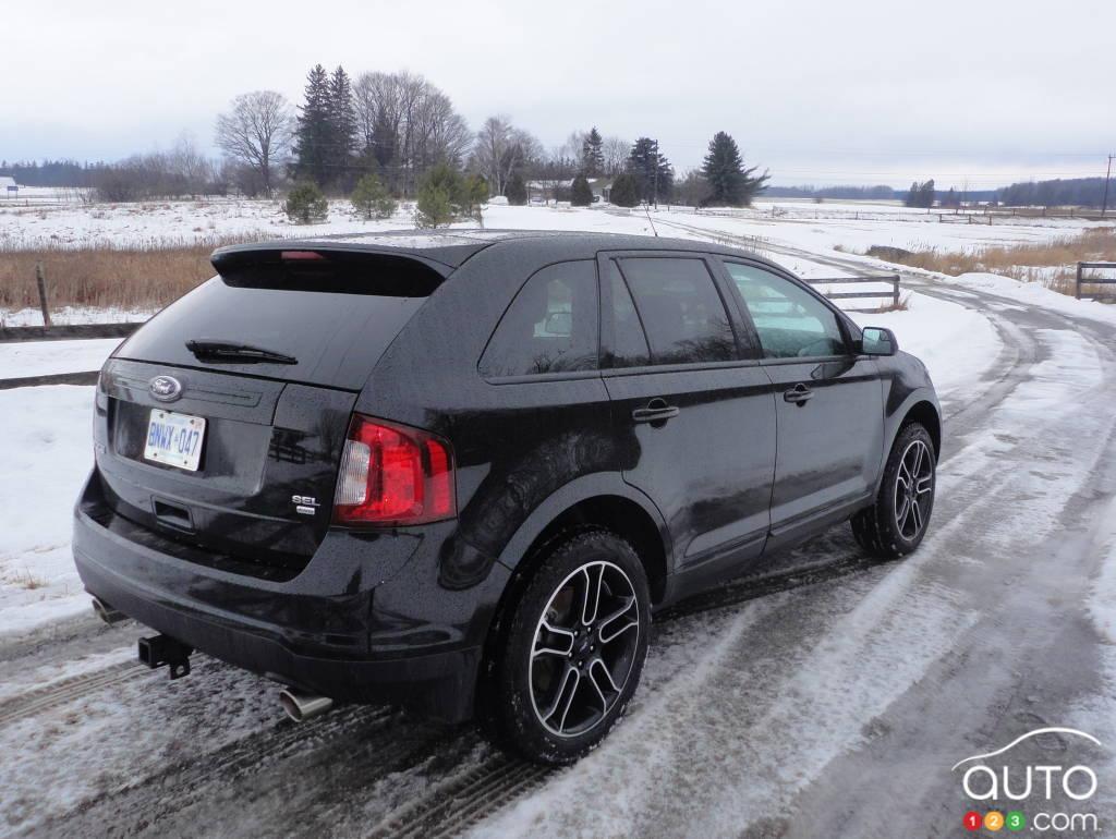 2013 ford edge sel awd car reviews auto123