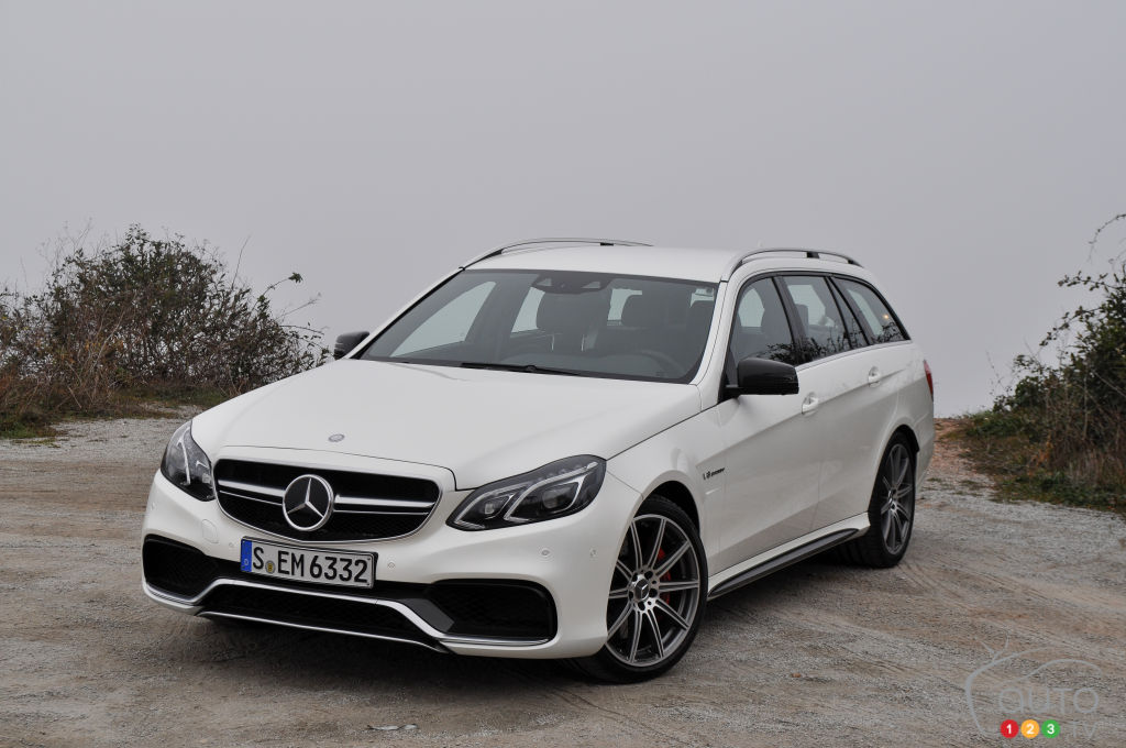 2014 mercedes benz e 63 amg car news auto123 for How much is a 2014 mercedes benz