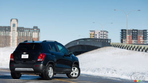 2013 Chevrolet Trax 2LT AWD 1SE Review