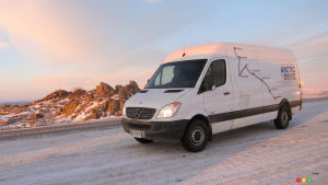 Mercedes-Benz Sprinter 2013 : essai routier