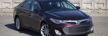 Toyota Avalon Limited 2013 : essai routier