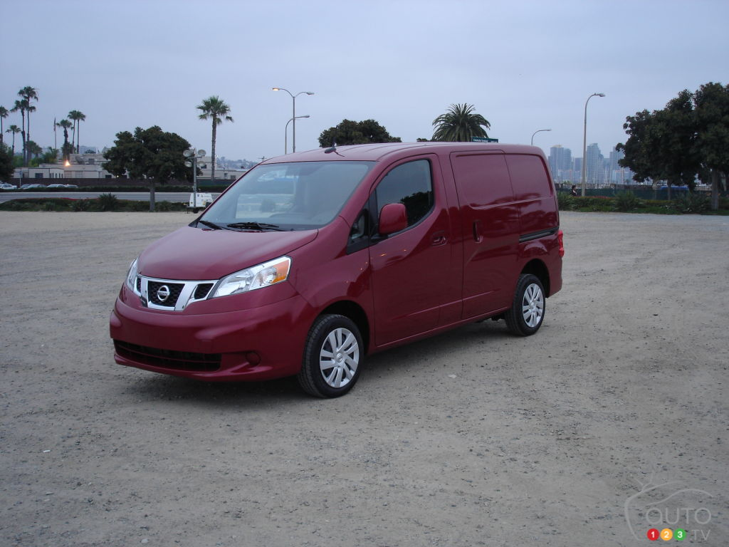 2013 Nissan NV200 First Impressions