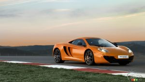 McLaren MP4-12C/Spider 2013 : aperçu