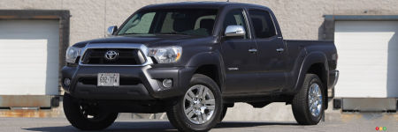 Toyota Tacoma cabine double 4x4 Limited 2013 : essai routier
