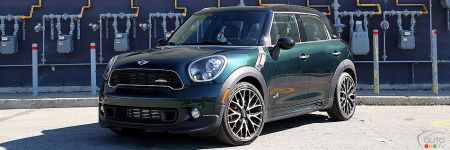 MINI John Cooper Works Countryman ALL4 2013 : essai routier