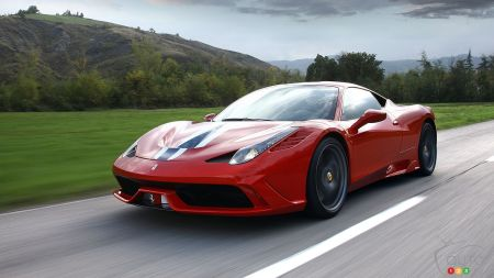 Ferrari 458 Speciale makes world debut in Frankfurt