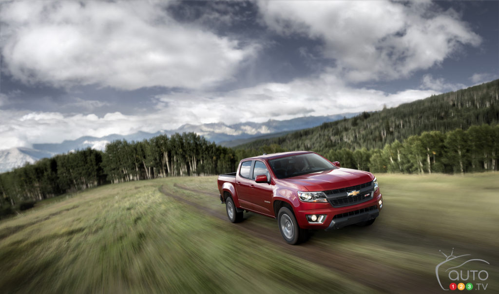 2015 Chevrolet Colorado Preview