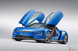 Paris 2014: Volkswagen XL Sport makes world debut