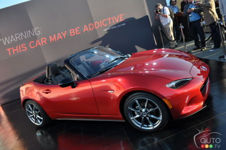 2014 Paris Auto Show: 2016 Mazda MX-5 Engine Announced