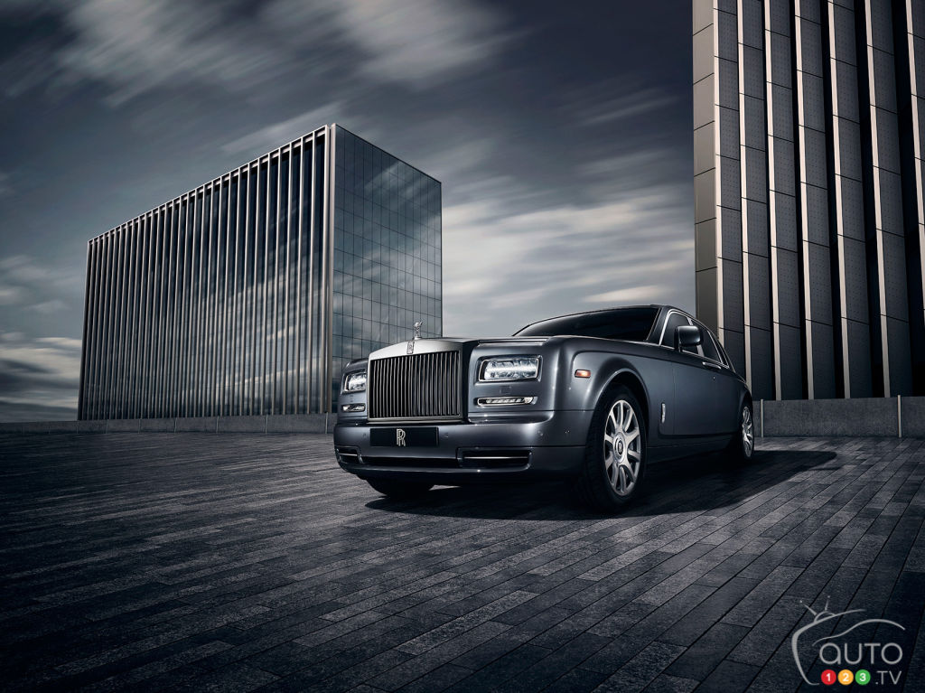 Paris 2014: Rolls-Royce launches Phantom Metropolitan Collection