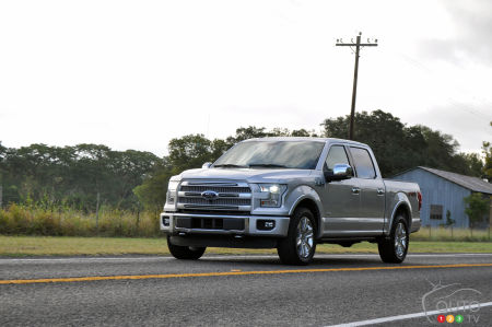 Ford F-150 2015 : premières impressions
