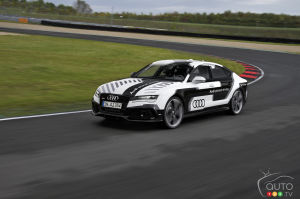 Audi develops world's sportiest piloted driving car