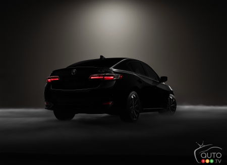 Acura ILX 2016: 1re image avant le Salon de Los Angeles