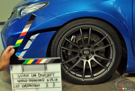 Los Angeles 2014 Scion Im Concept Announced Car News Auto123