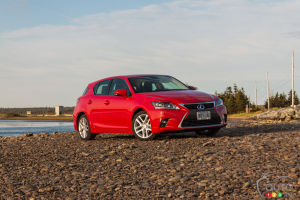 2014 Lexus CT 200h Review