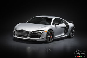Los Angeles 2014 : débuts de l'Audi R8 competition