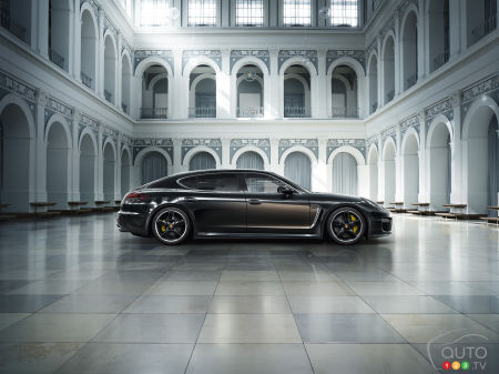 Los Angeles 2014 : Porsche Panamera Exclusive Series en première mondiale