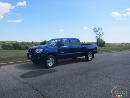 2014 Toyota Tacoma 4X4 Double Cab Review