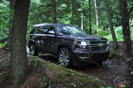 2015 Chevrolet Tahoe Ltz Review Editor S Review Car Reviews Auto123