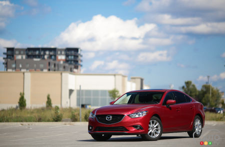 2015 Mazda6 GS Review