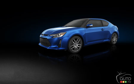 Scion tC 2015 : aperçu