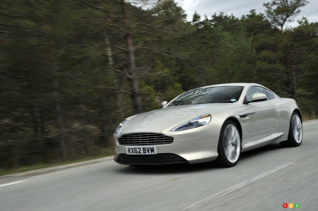 2015 Aston Martin DB9 Preview