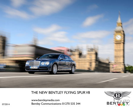 Bentley Flying Spur 2015 : aperçu