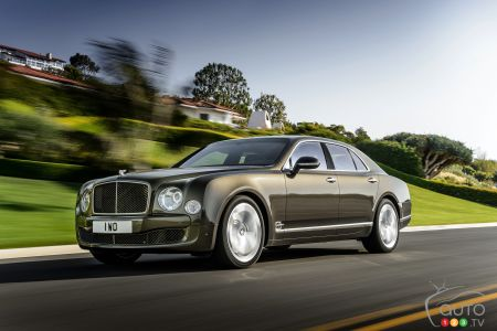 2015 Bentley Mulsanne Preview